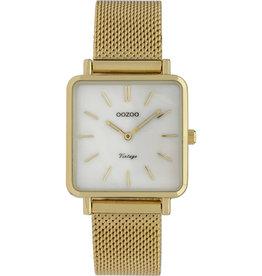 Oozoo Oozoo Horloge White Gold