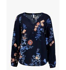 Soyaconcept Soyaconcept blouse Paola donker blauw