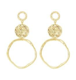 My Jewellery My Jewellery Oorbellen Goud Vintage Statement