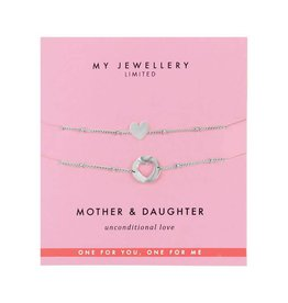 My Jewellery My Jewellery Armbandje Zilver Mother Daughter