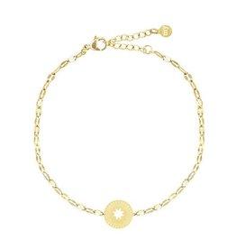 My Jewellery My Jewellery Armbandje Goud Galaxy Star