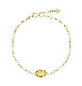 My Jewellery My Jewellery Armbandje Goud Galaxy Moon