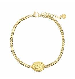 My Jewellery My Jewellery Armbandje Goud Camee