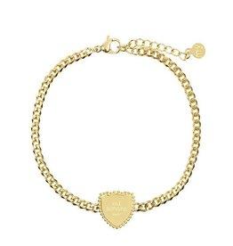 My Jewellery My Jewellery Armbandje Goud Mi Amore