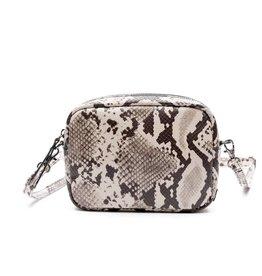 Zebra Trends Zebra Natural Bag Kartel Nova Snake White
