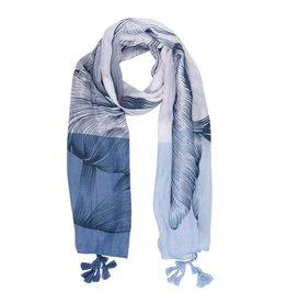 Juleeze Sjaal Duotone blue