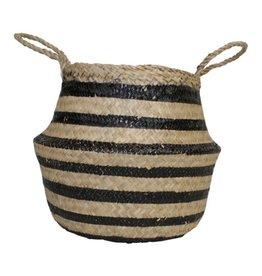 Housevitamin Housevitamin Seagrass Basket Black
