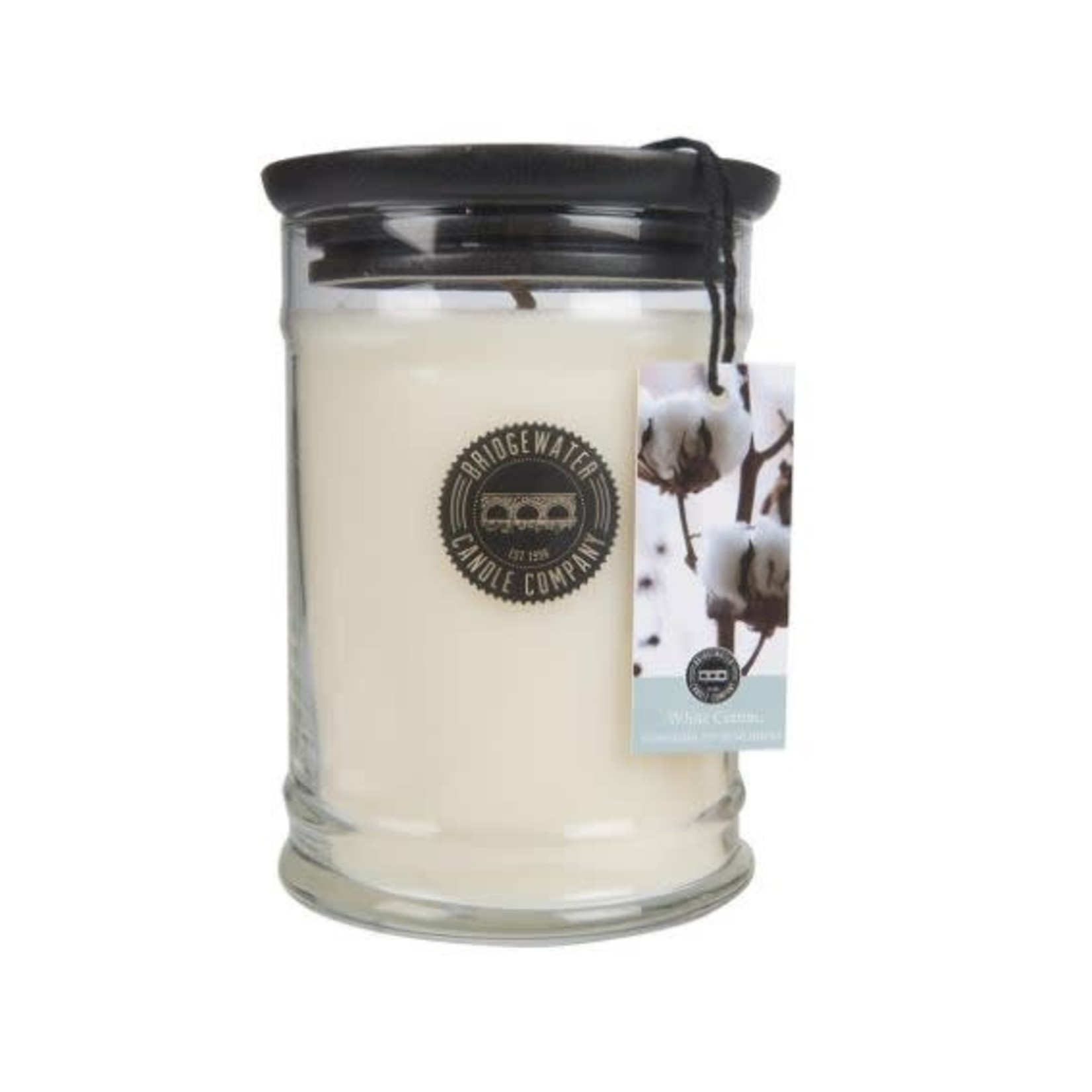Bridgewater Candle Company Bridgewater Jar Large White Cotton