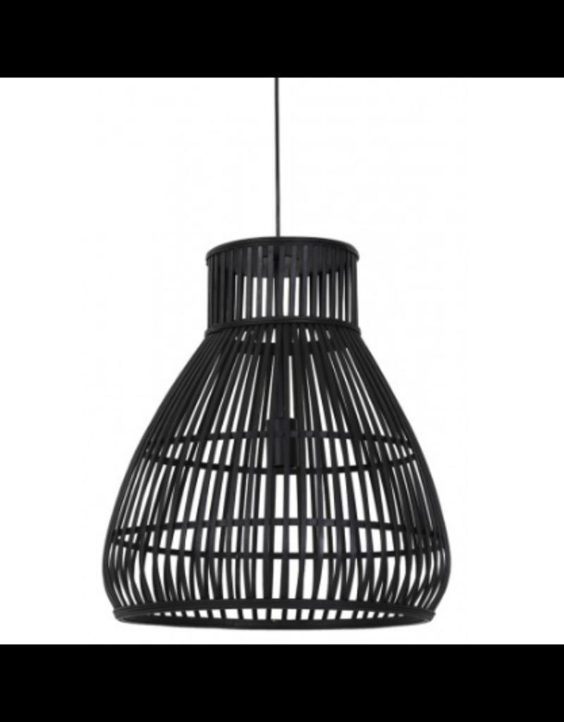 Light&Living Hanglamp Timaka 46x51cm Zwart