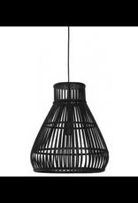 Light&Living Hanglamp Timaka 37x43cm Zwart