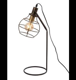 Tafellamp Metaal 21x29x68cm