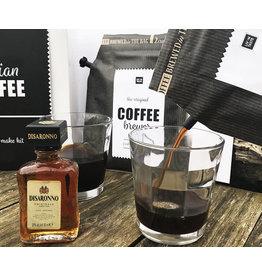 Liv 'n taste Italian Coffee giftset incl. 2 glazen
