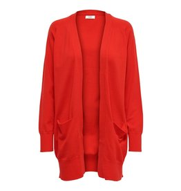 Jacqueline de Yong (JDY) JDY Vest Day Goji Berry Red