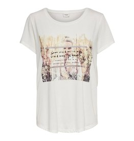 Jacqueline de Yong (JDY) JDY Shirt City Treats Secret Garden Off White