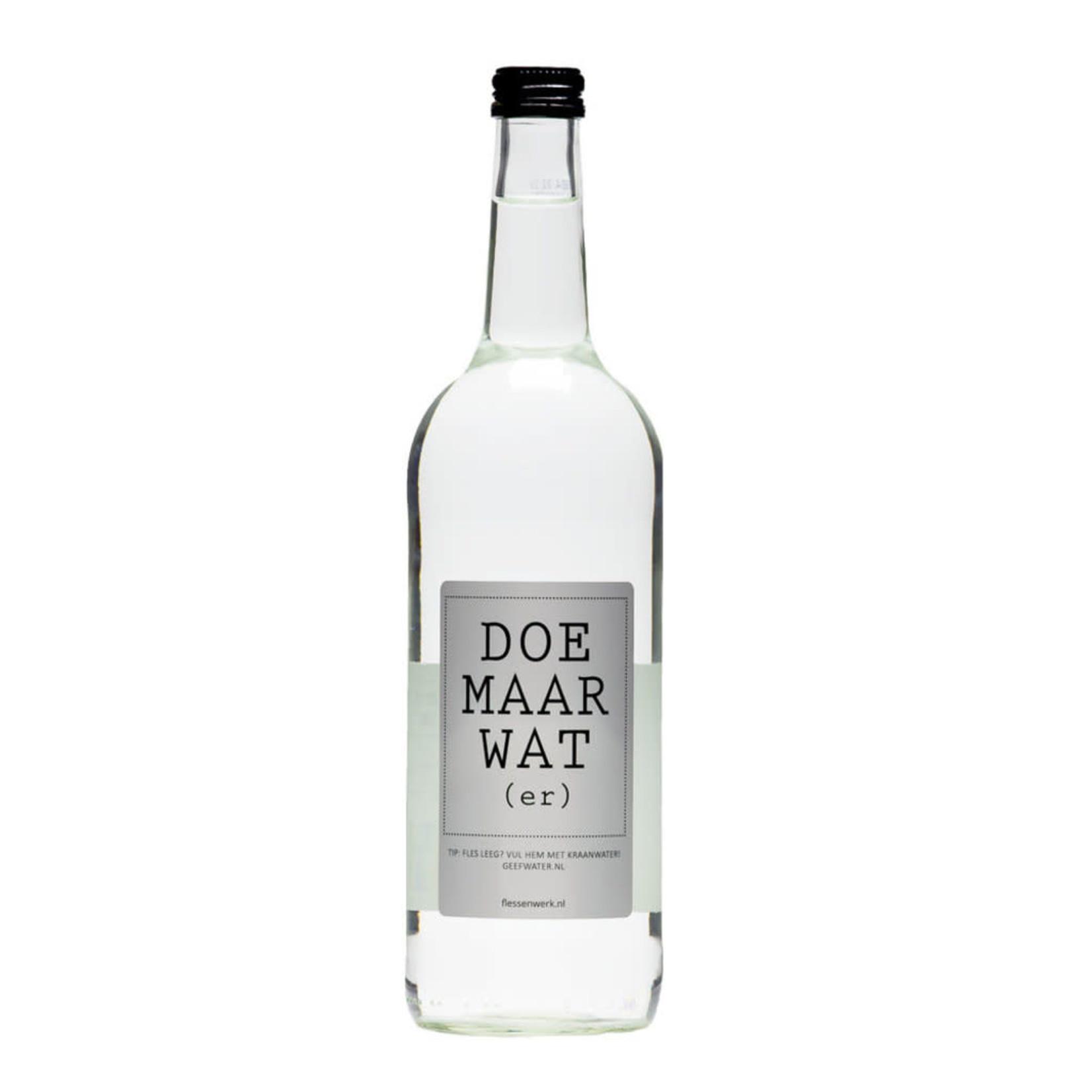 Flessenwerk Flessenwerk Doe Maar Water