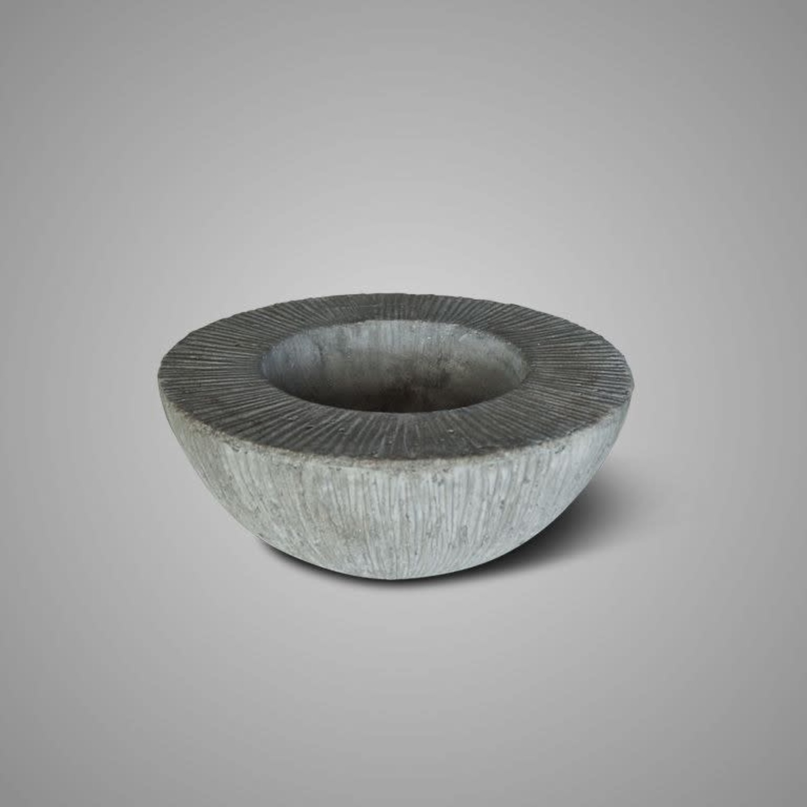 Brynxz BOWL DOUBLE EDGE STONE L D.37 H.14