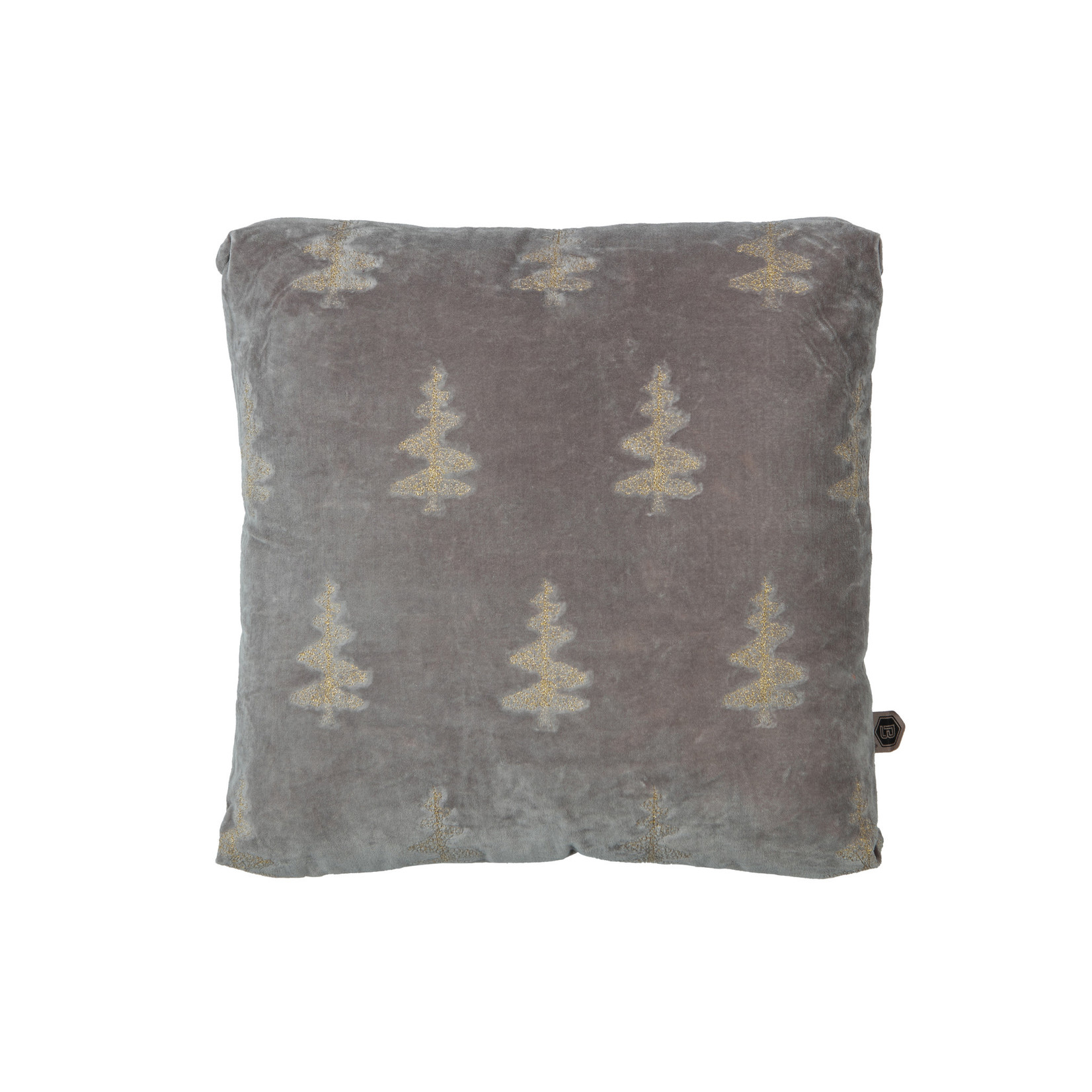 Be Pure Home Be Pure Home Forest kussen fluweel khaki 45x45