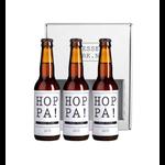 Flessenwerk Flessenwerk Hoppa Hoppa Hoppa set van 3