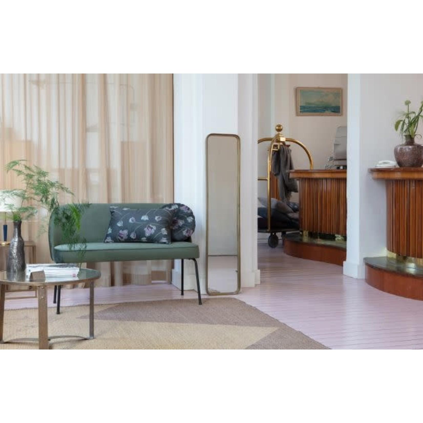 Be Pure Home Vogue Eetbank Fluweel Onyx