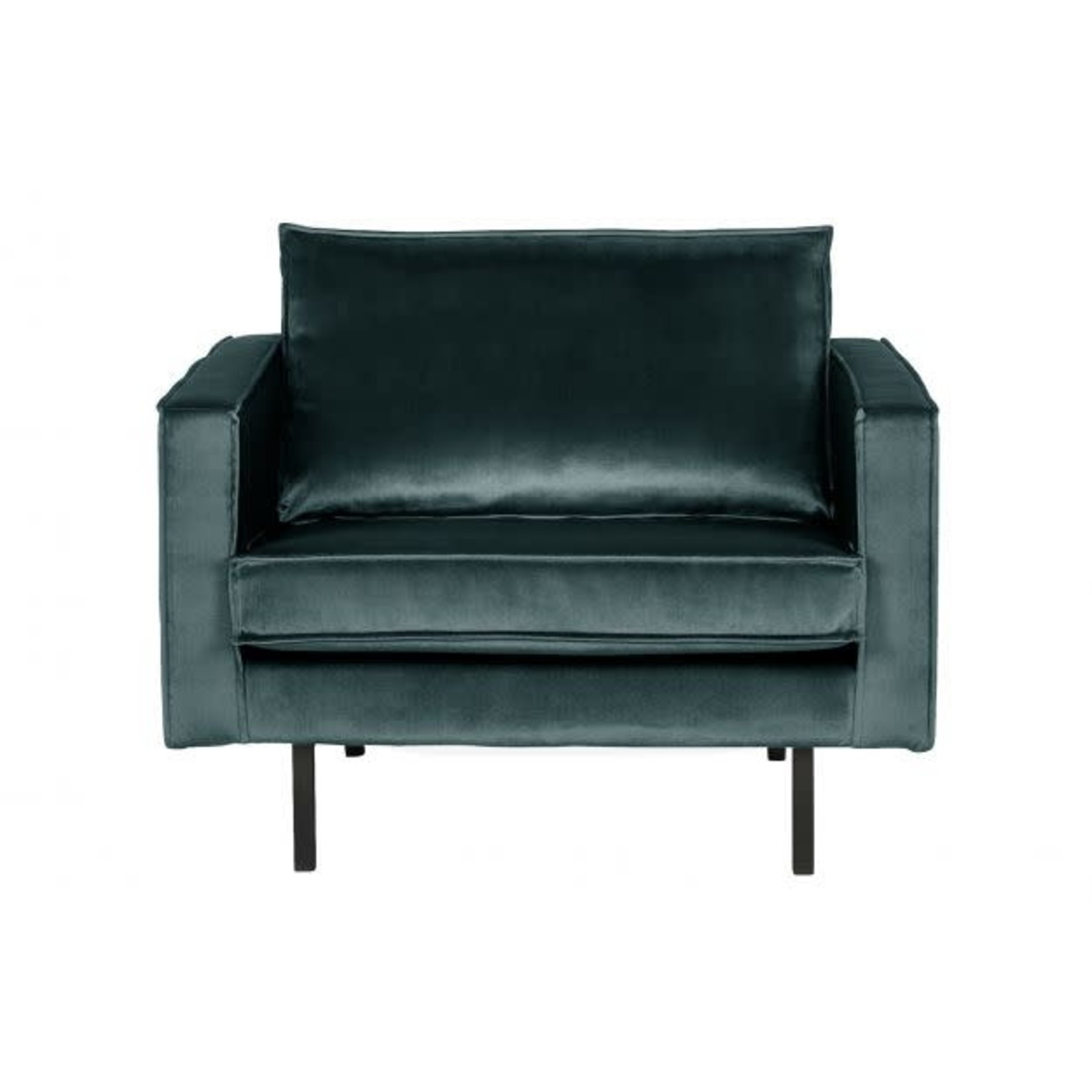 Be Pure Home Rodeo Fauteuil Velvet Teal