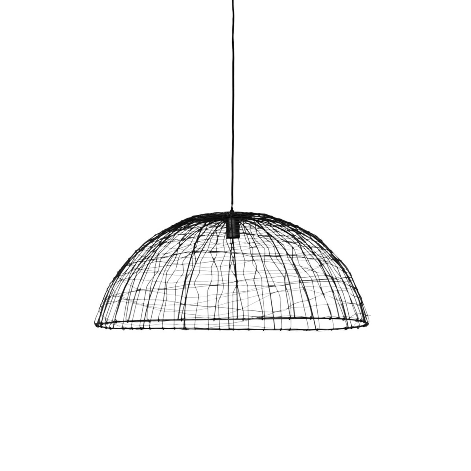 Light & Living Hanglamp Adisa Mat Zwart 80X32cm