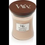 Woodwick Woodwick Vanilla & Sea Salt Medium Candle