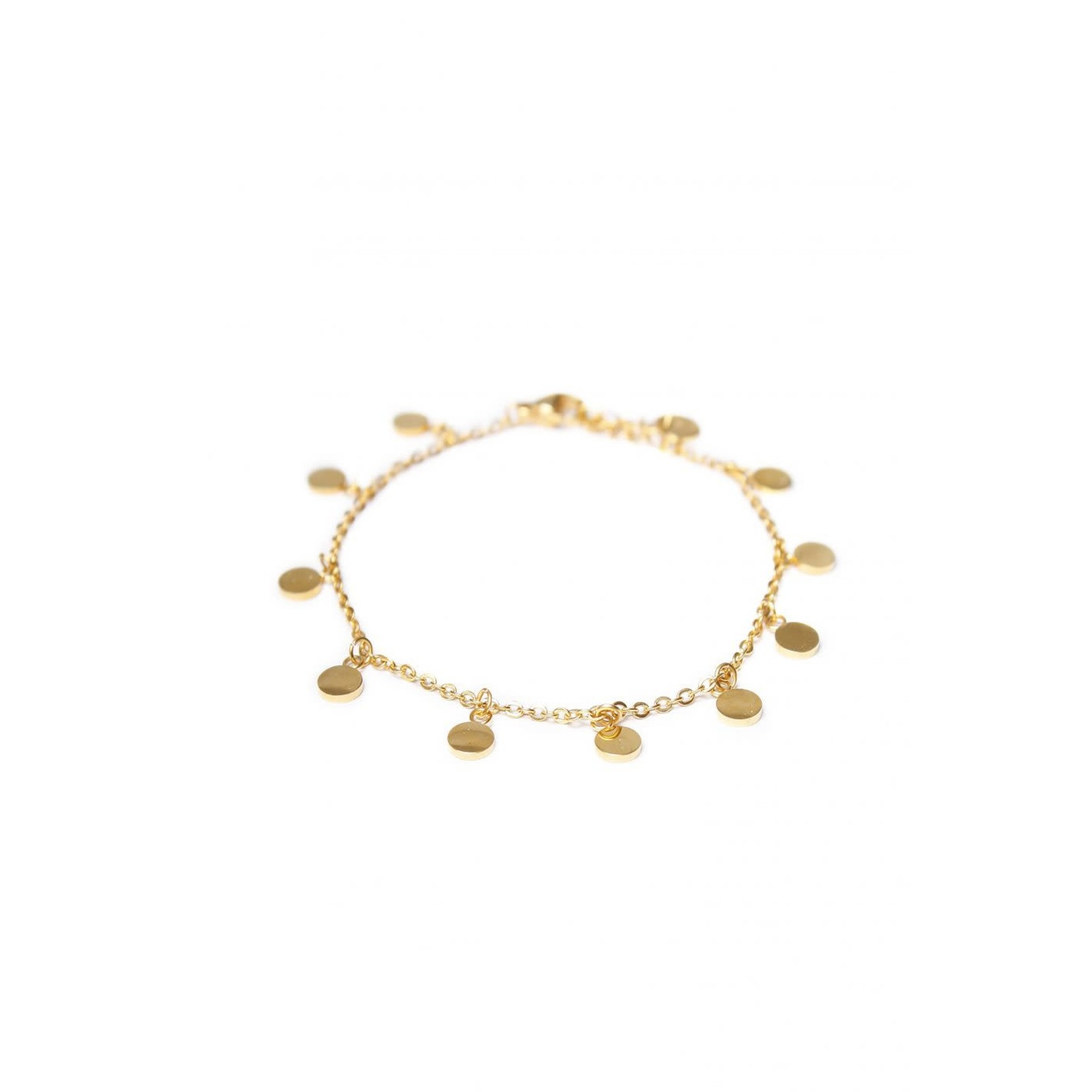 label Kiki Mini Label Bracelet Gold