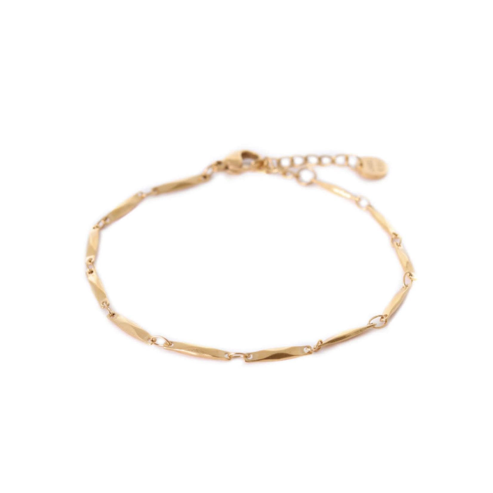 label Kiki Beam Bracelet Gold