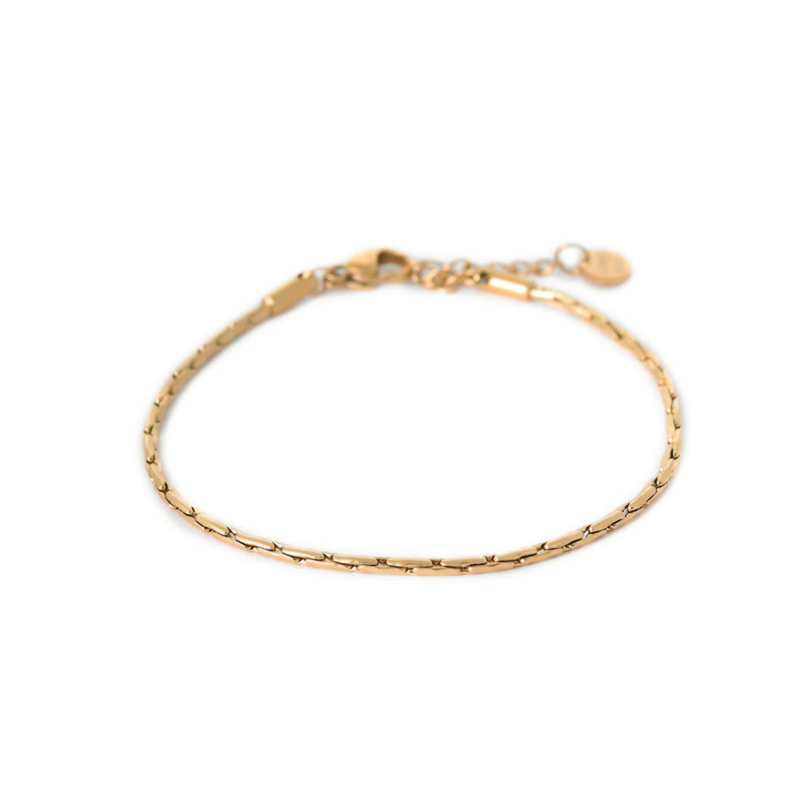 label Kiki Brickwork Bracelet Gold