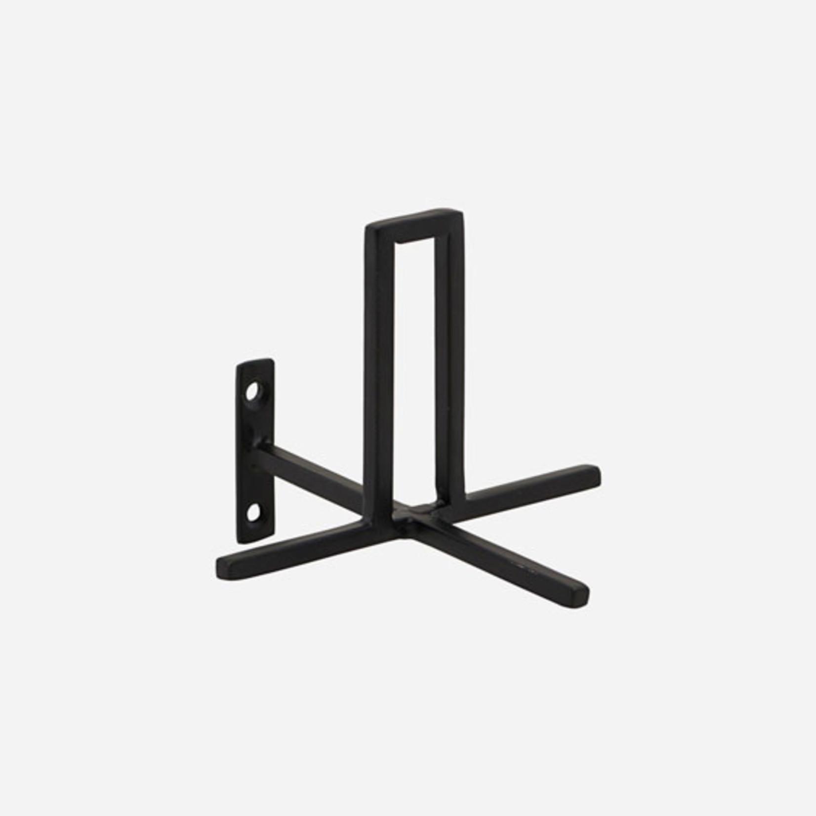 HouseDoctor Housedoctor | Toiletrolhouder zwart