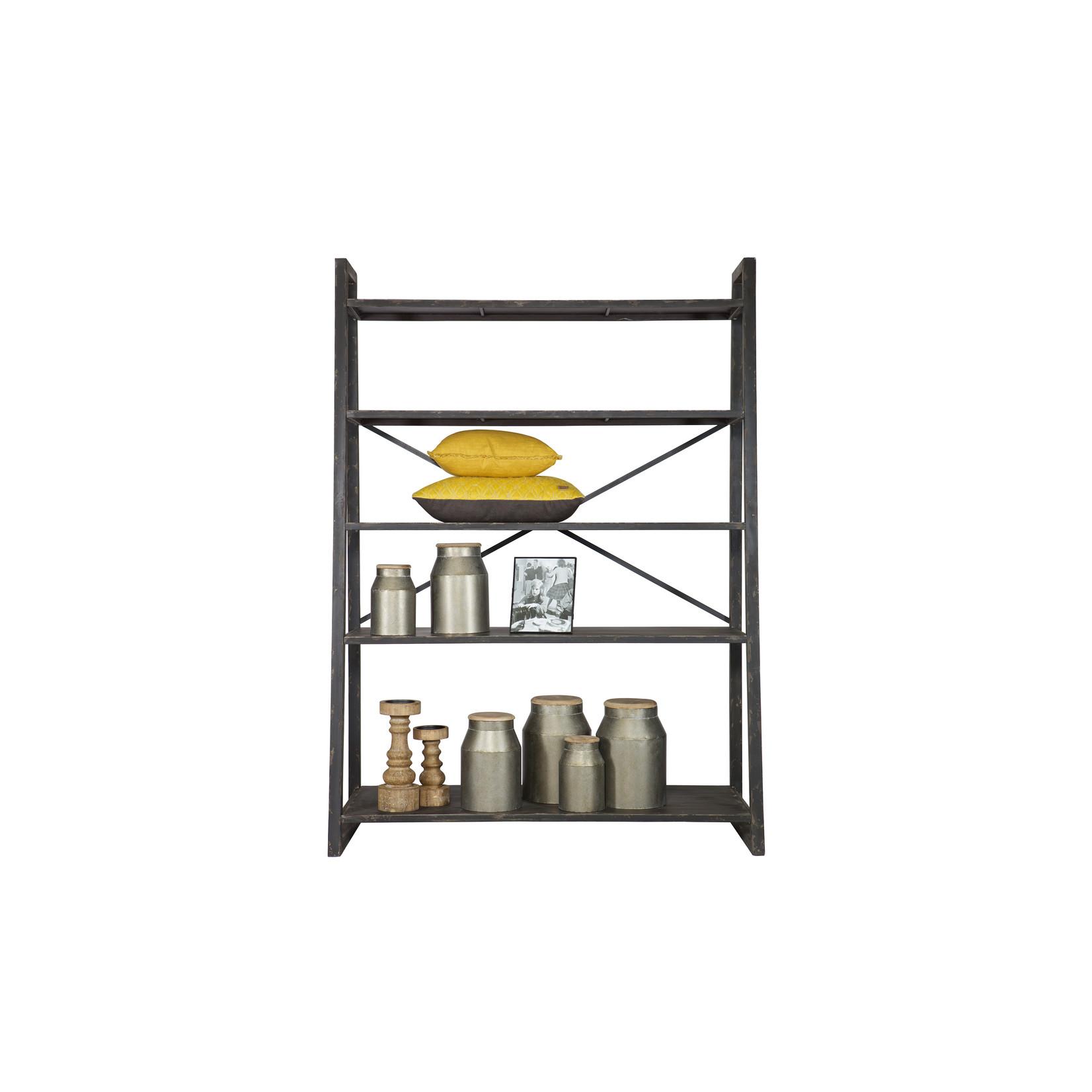 Be Pure Home Splurge Metalen Rek Zwart