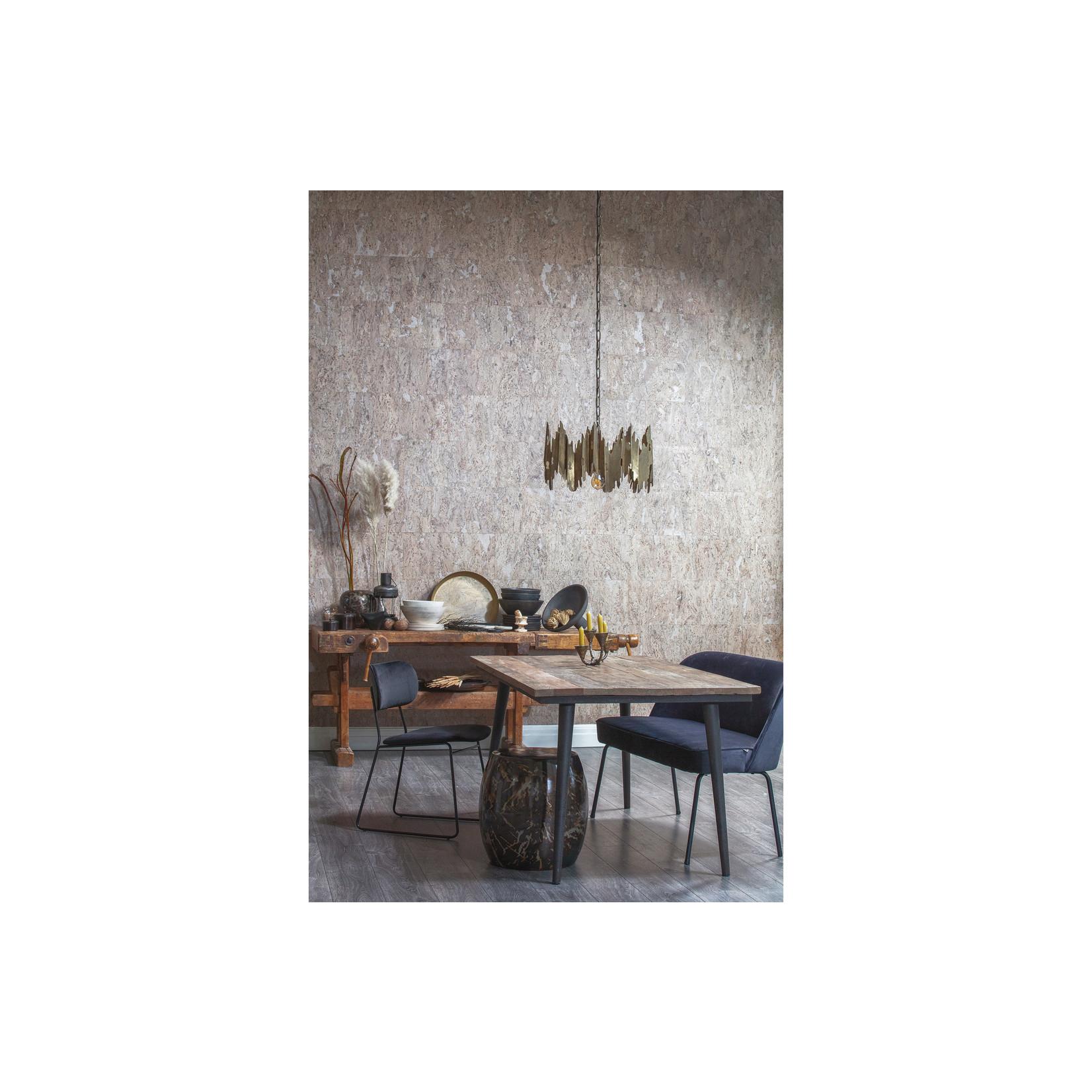 Be Pure Home Guild Tafel Naturel Met Zwart Onderstel 180x90
