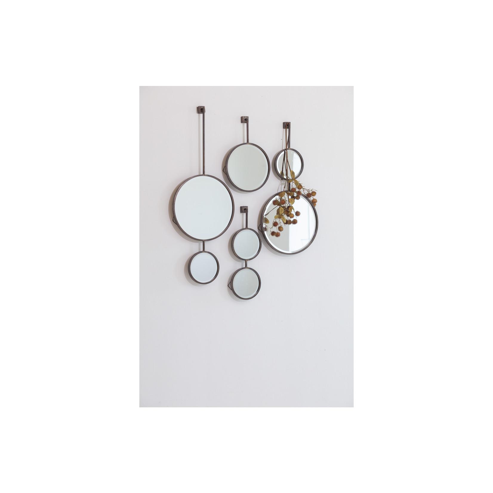 Be Pure Home Chain Enkele Spiegel Antique Zwart