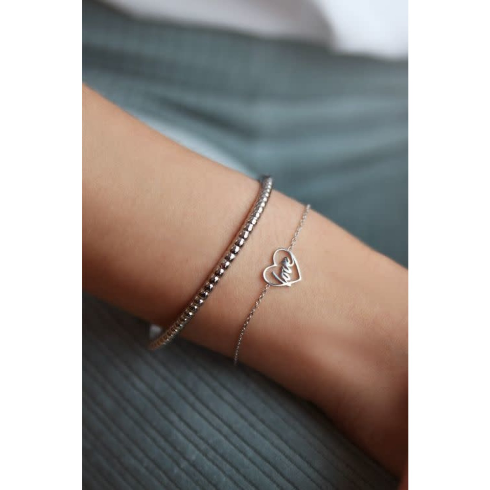 My Jewellery My jewellery armband Moments love Zilver