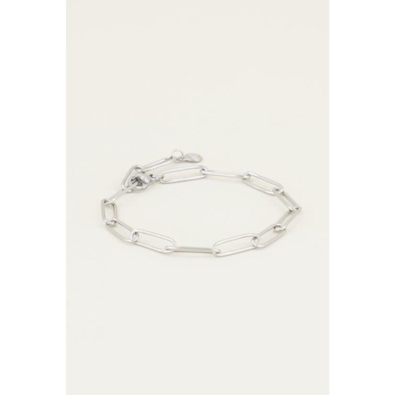 My Jewellery My jewellery armband Moments Zilver