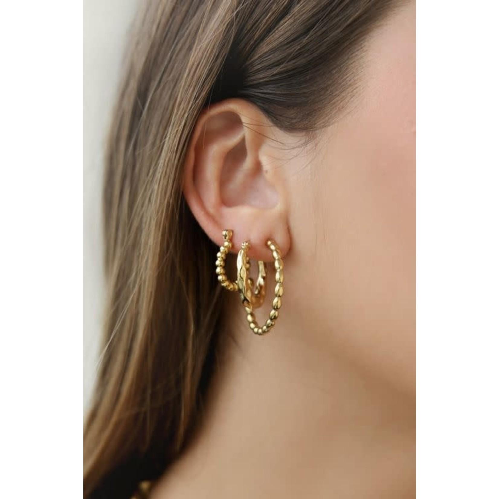 My Jewellery My jewellery oorringen grote bolletjes Goud