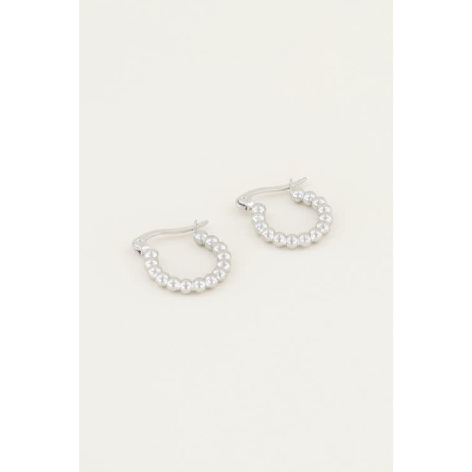 My Jewellery My jewellery oorringen bolletje Zilver