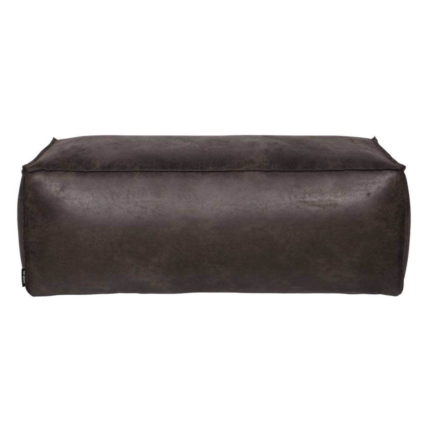 Be Pure Home BePureHome Rodeo poef 43x120 zwart