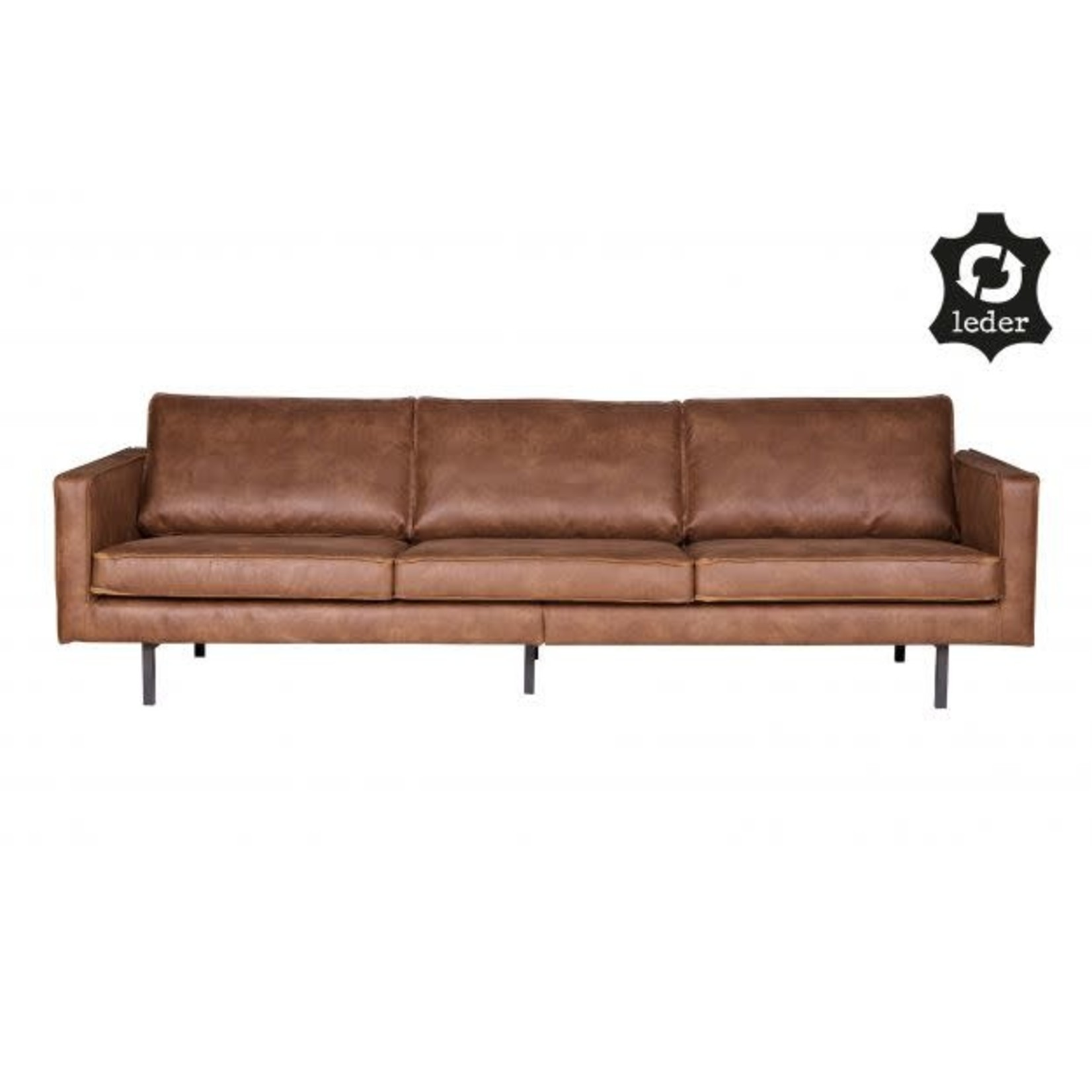 Be Pure Home Rodeo Bank 3-zits Cognac