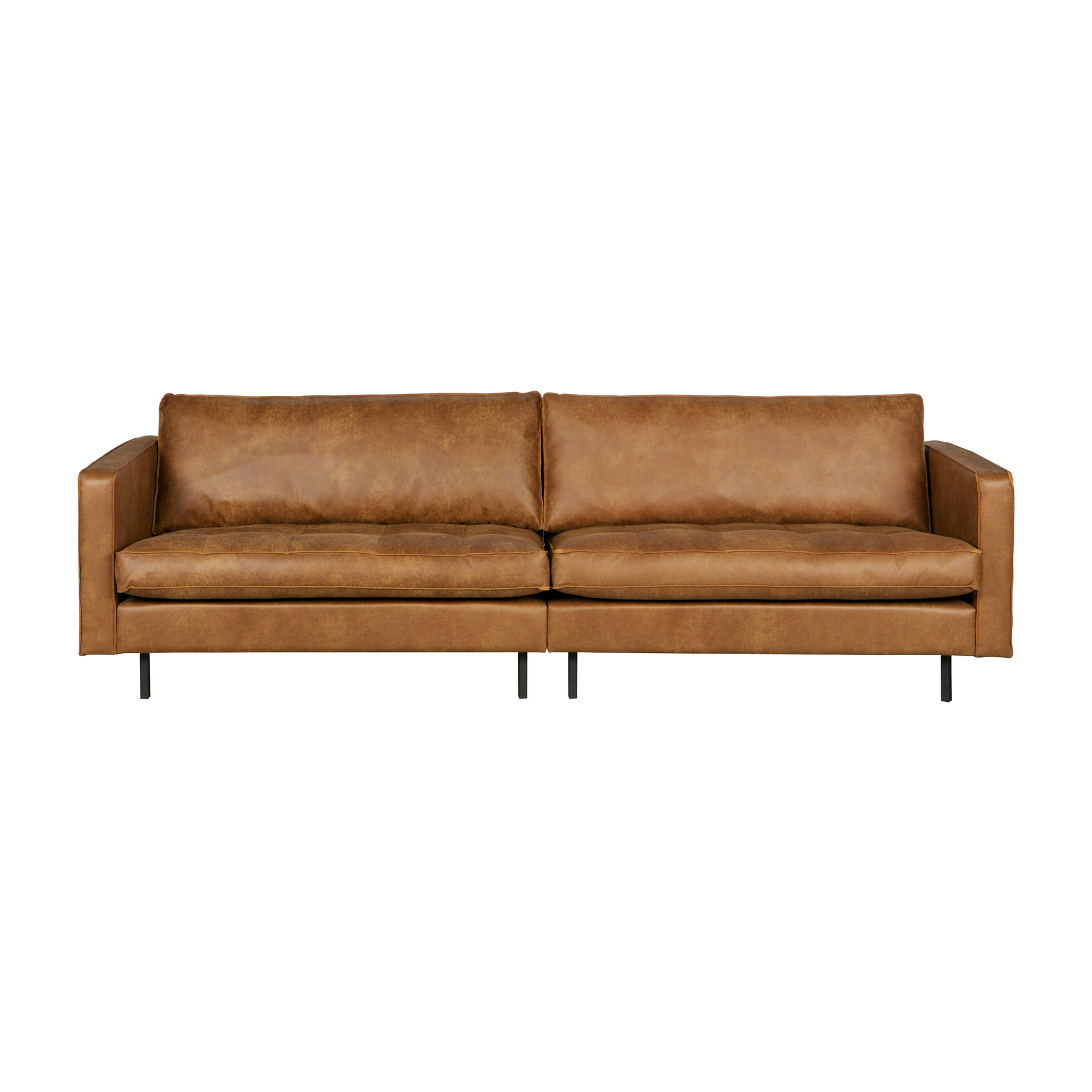 Be Pure Home Rodeo Classic Bank 3-zits Cognac