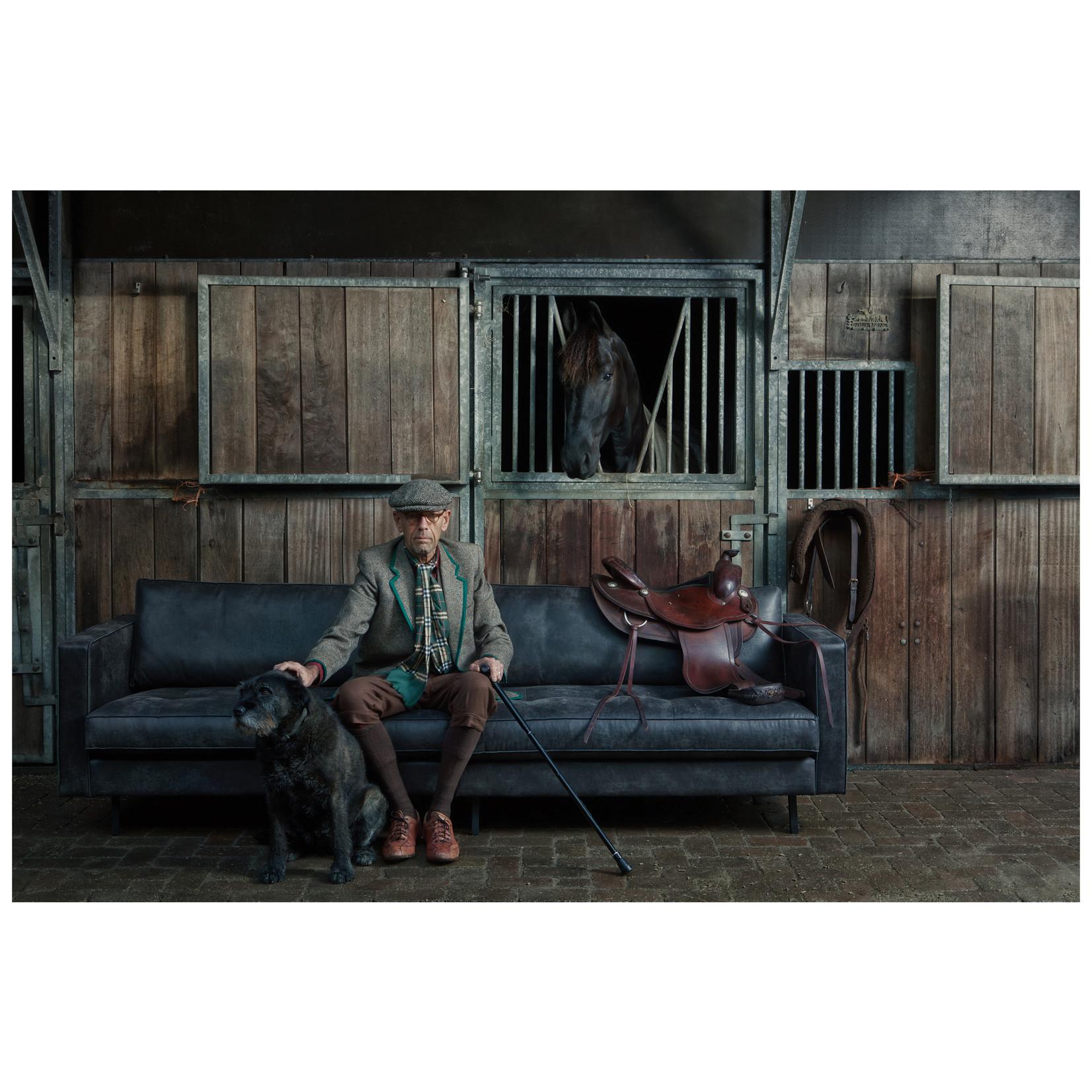 Be Pure Home Rodeo Classic Bank 3-zits Zwart