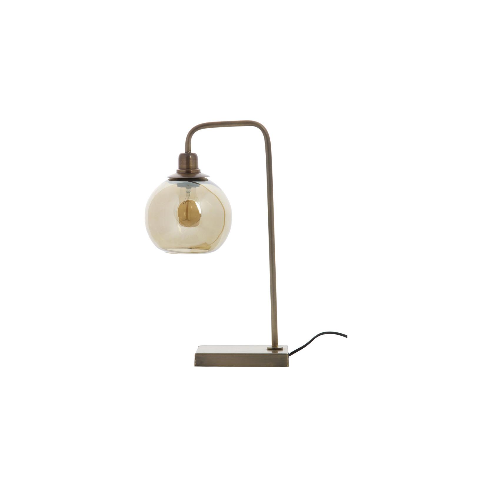 Be Pure Home Lantern Tafellamp Metaal Antique Brass