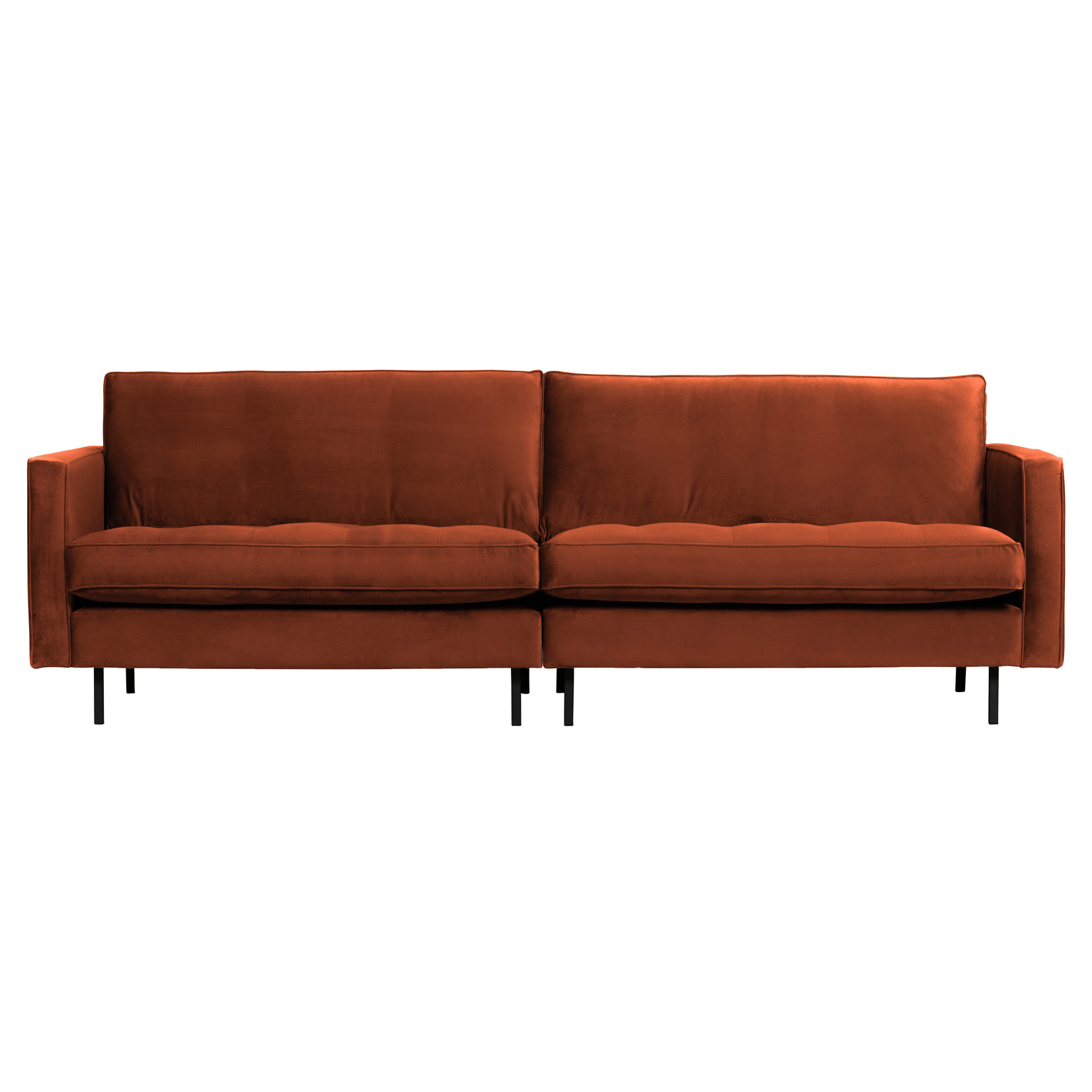 Be Pure Home Rodeo Classic Bank 3-zits Velvet Roest