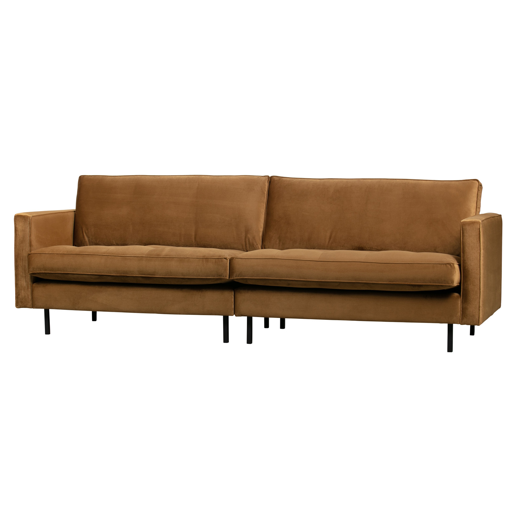Be Pure Home Rodeo Classic Bank 3-zits Velvet Honing Geel