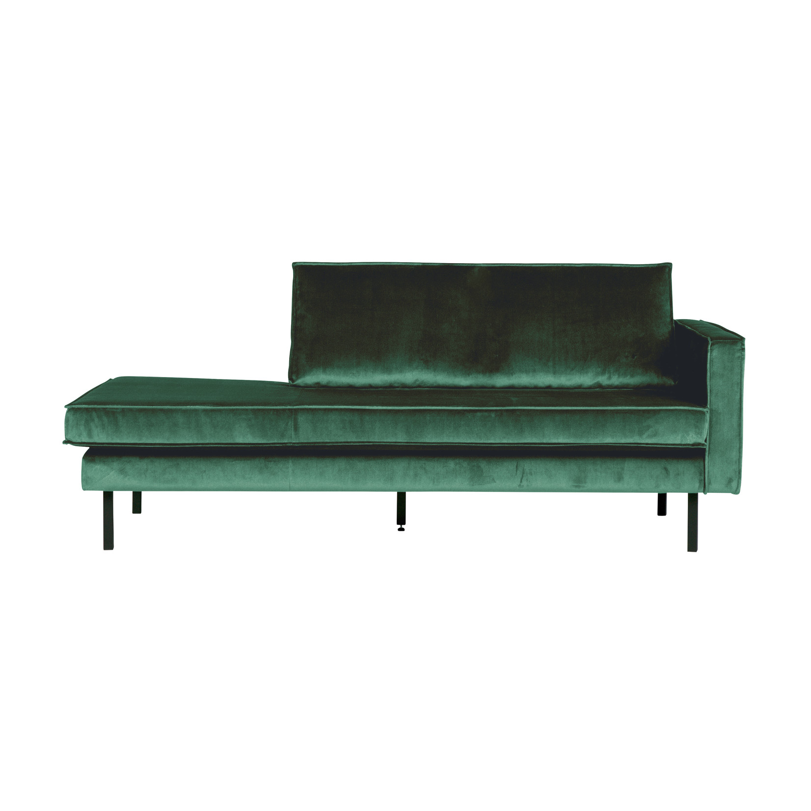 Be Pure Home Rodeo Daybed Right Velvet Green Forest
