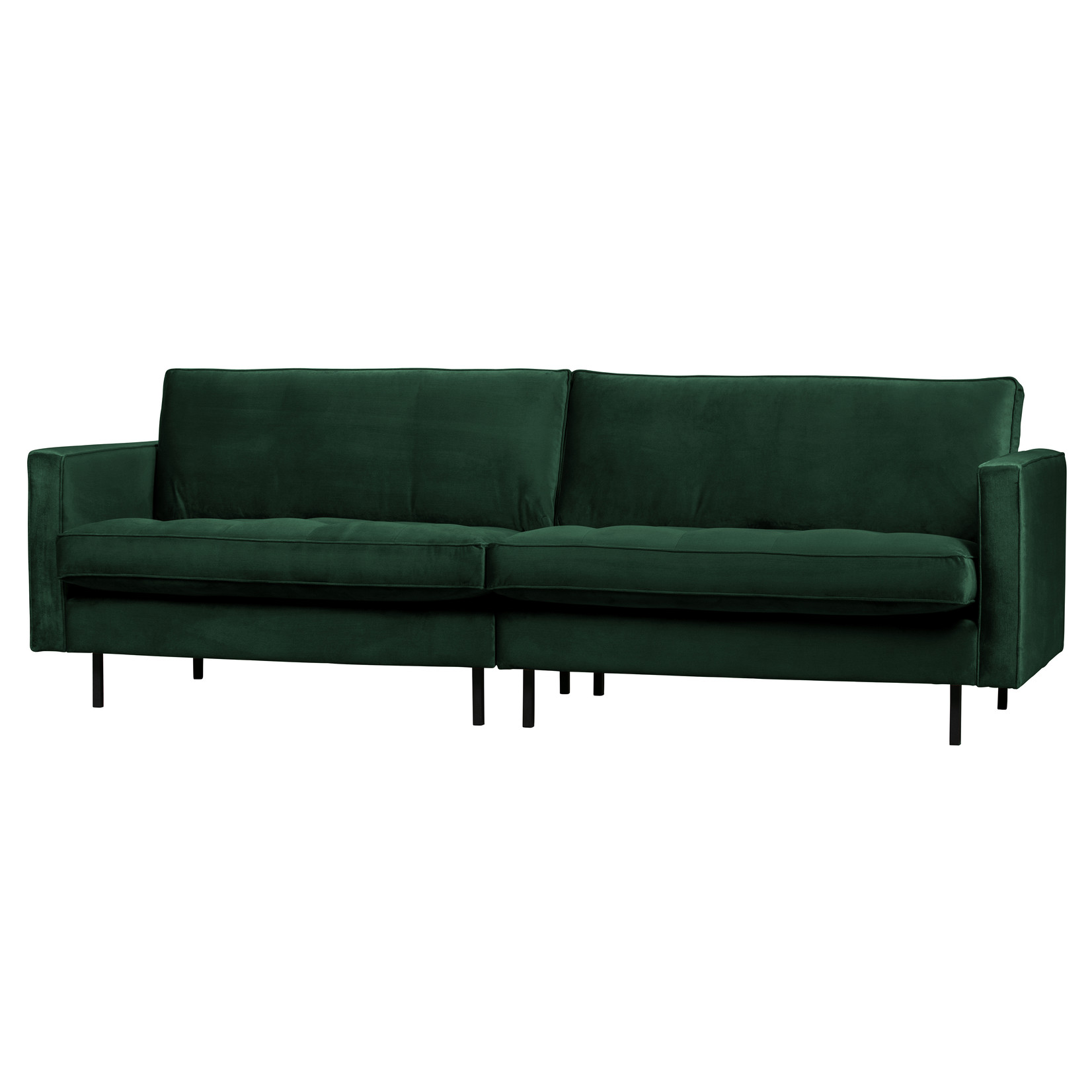 Be Pure Home Rodeo Classic Bank 3-zits Velvet Green Forest