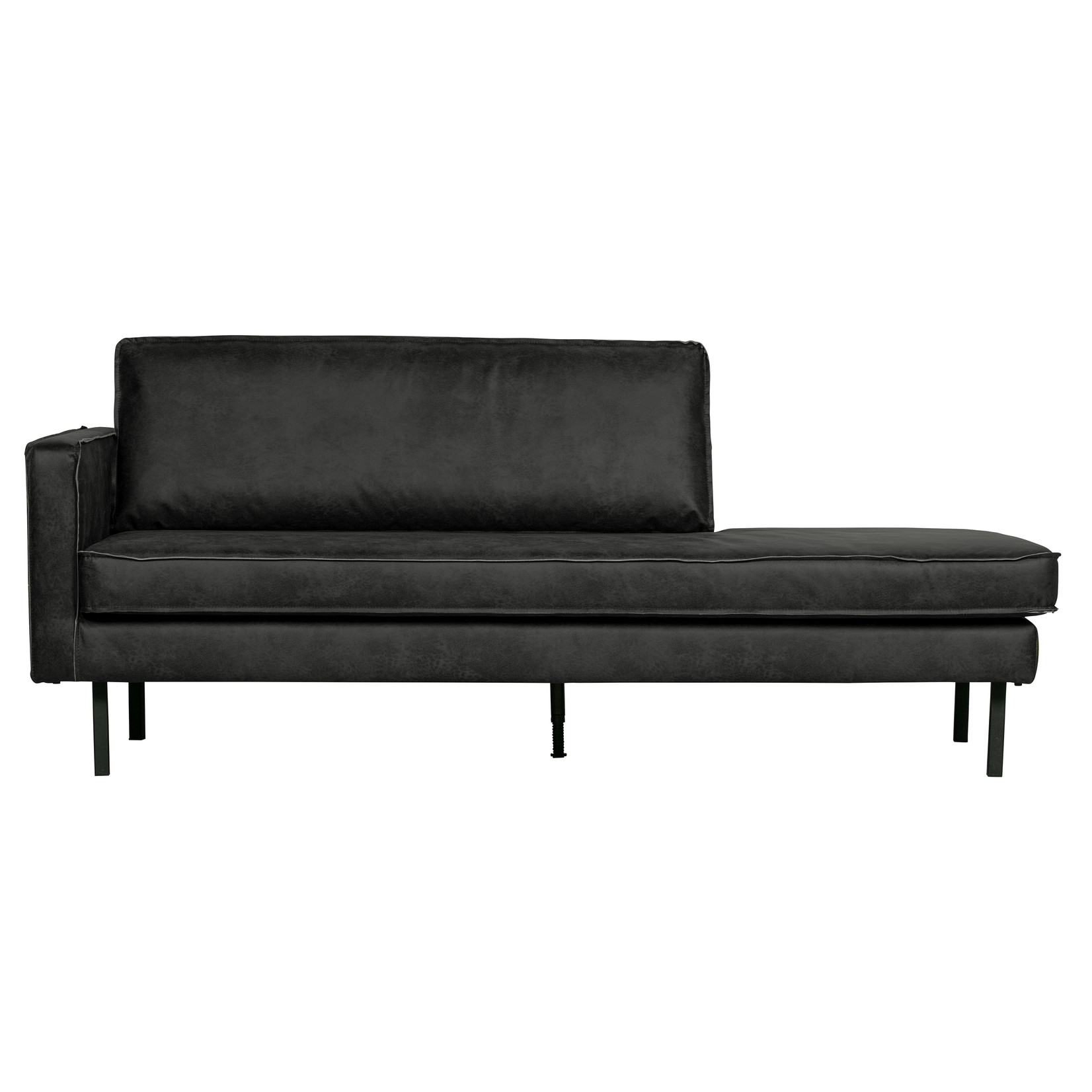 Be Pure Home Rodeo Daybed Left Zwart