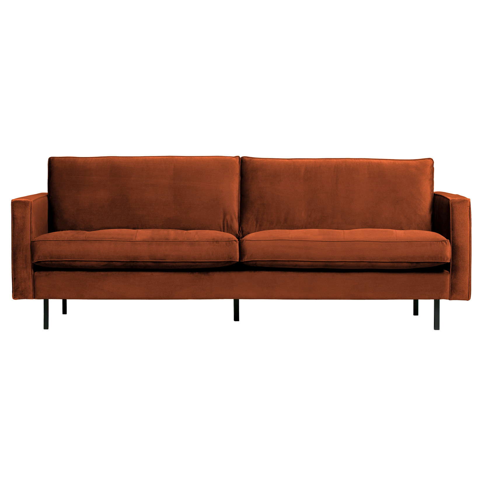 Be Pure Home Rodeo Classic Bank 2,5-zits Velvet Roest