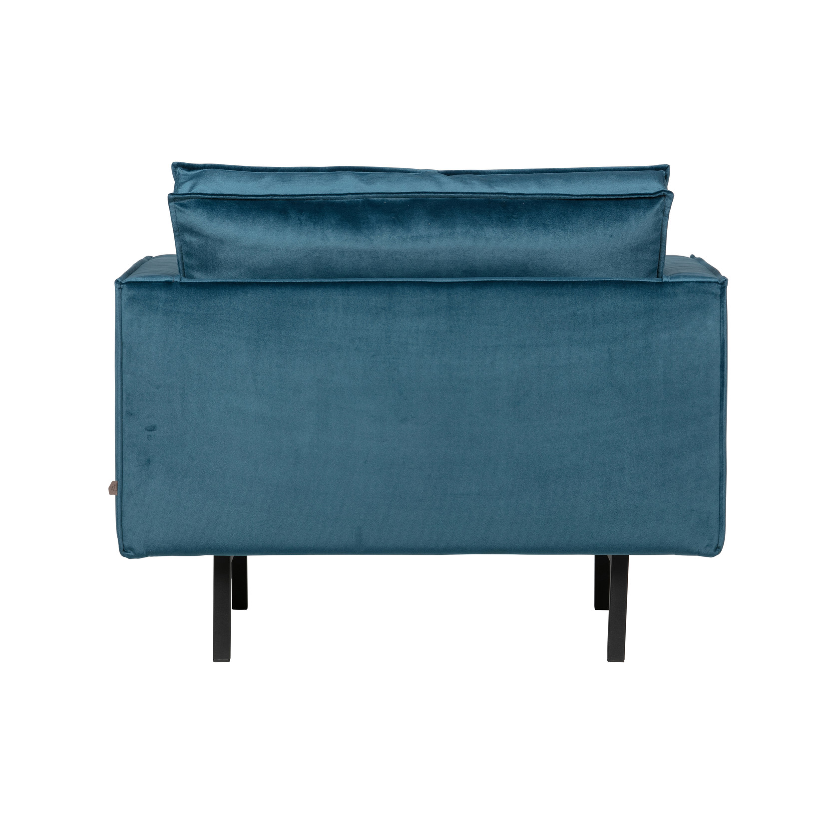 Be Pure Home Rodeo Fauteuil Velvet Blue