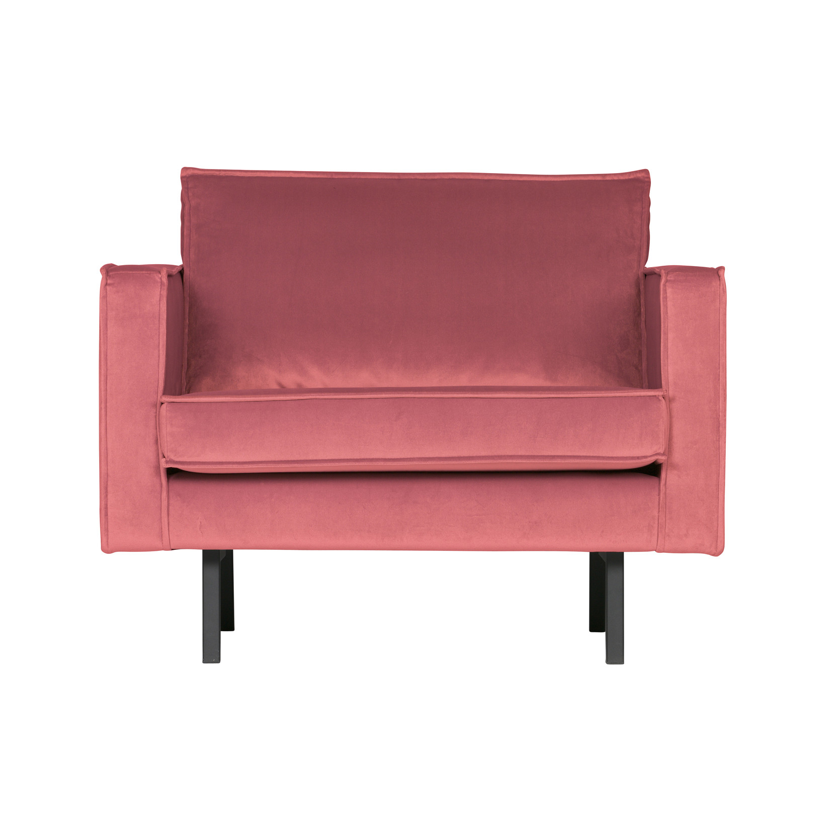Be Pure Home Rodeo Fauteuil Velvet Pink